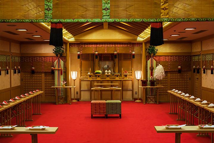 ニューウェルシティ宮崎の神前挙式